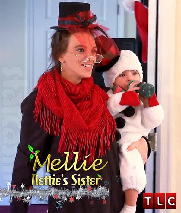 Gypsy Sisters Mellie Stanley Scrooge Richard snowman
