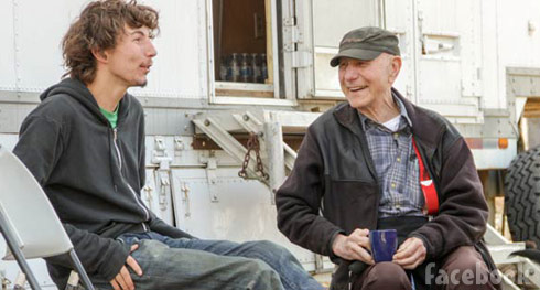 Gold Rush Parker Schnabel and Grandpa John Schnabel