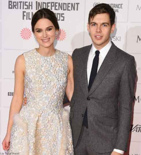 Pregnant Keira Knightley and James Righton