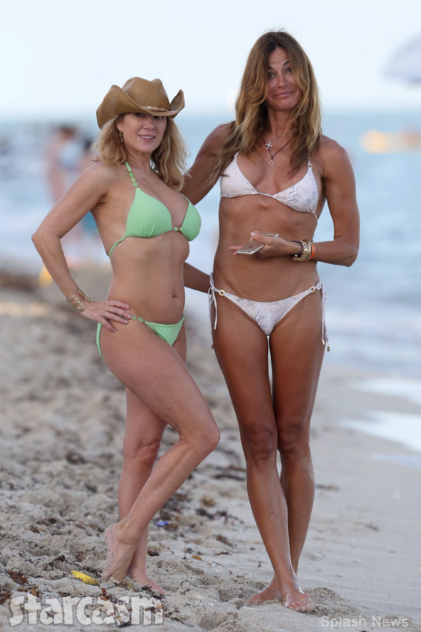 Ramona Singer Kelly Bensimon bikini photo