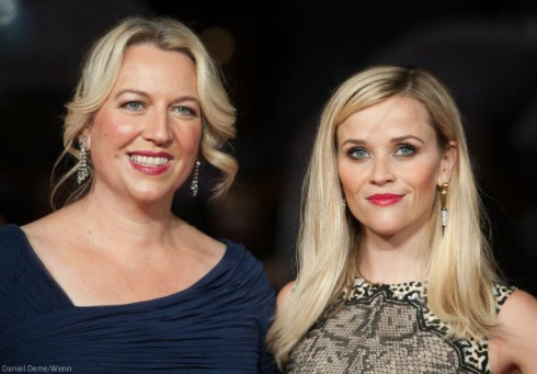 Real Cheryl Strayed and Reese Witherspoon together