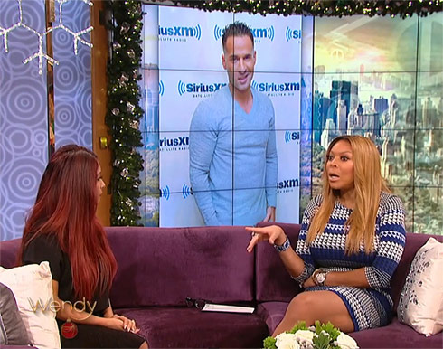 Snooki explains why Mike The Situation Sorrentino wasn't at her wedding on The Wendy Williams Show