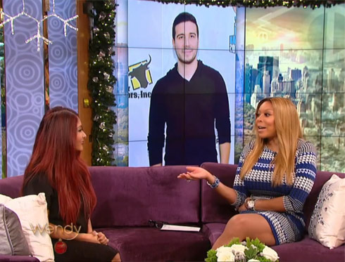 Snooki reveals why Vinny wasn't at her wedding to Wendy Williams