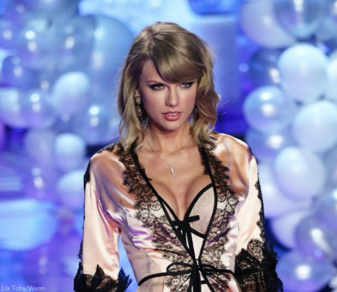 Taylor Swift Victoria's Secret Fashion Show - Boob Job Questions