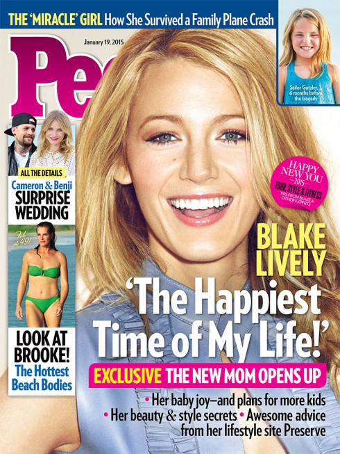 Blake Lively People Magazine Cover