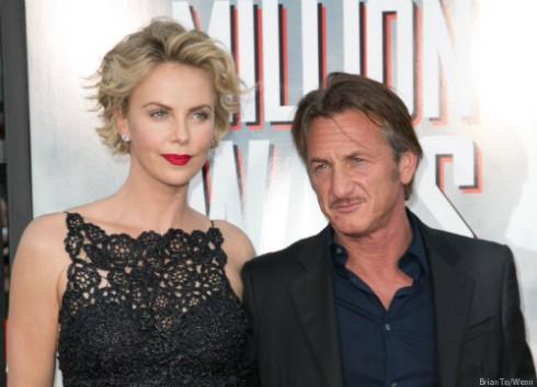 Charlize Theron and Sean Penn Son