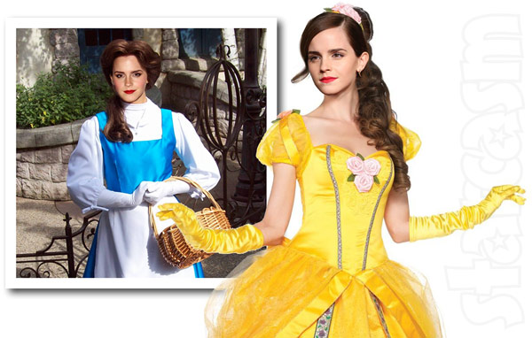 Emma Watson as Belle in Disney's Beauty and the Beast