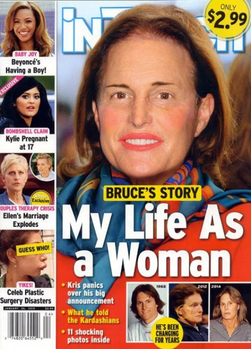 In Touch Magazine Bruce Jenner Woman Cover