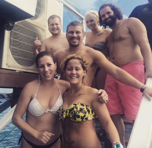 Jenelle Evans Vacation Bikini Picture