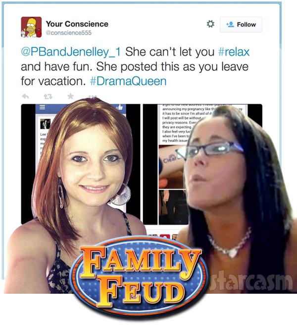 Jenelle Evans' sister Ashleigh Wilson feud