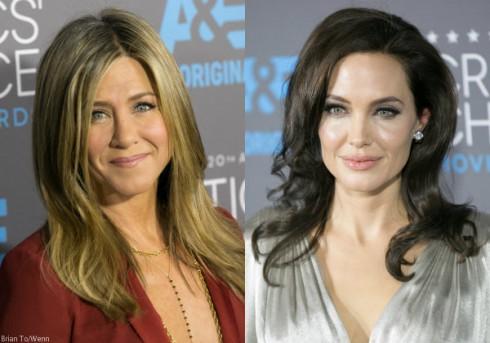 Jennifer Aniston and Angelina Jolie Critics Awards