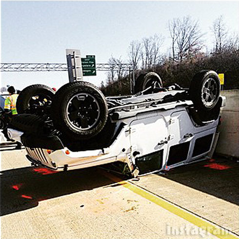 Maci Bookout car crash photo