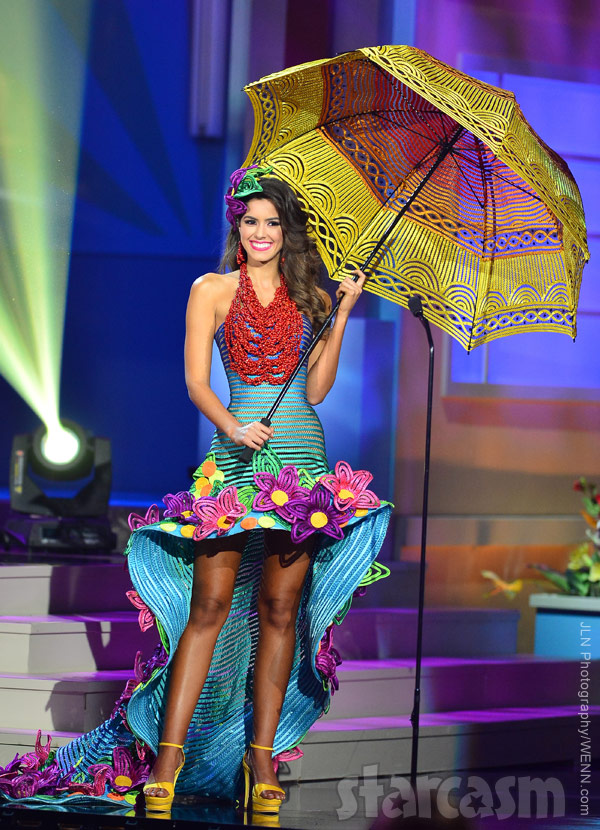 2014 Miss Colombia Paulina Vega National Costume Competition 2015