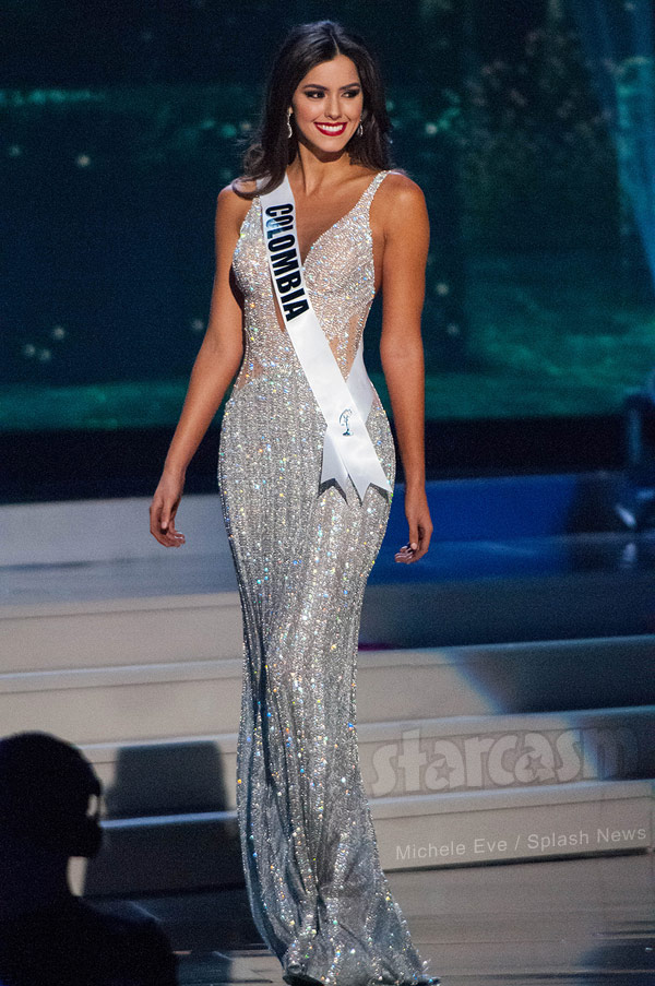 Miss Universe Paulina Vega evening gown competition
