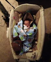 My Five Wives Baby Huck home