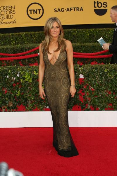 Jannifer Aniston SAG Awards dress 2015