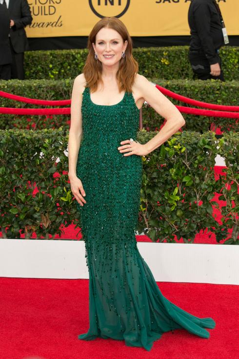 SAG Awards 2015 Julianne Moore Givenchy dress