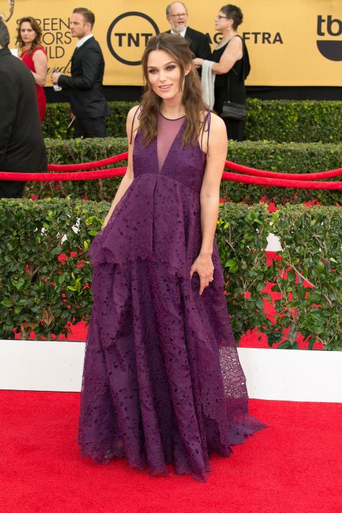Keira Knightly SAG Awards dress 2015