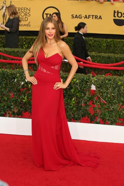 Sofia Vergara SAG Awards red carpet 2015