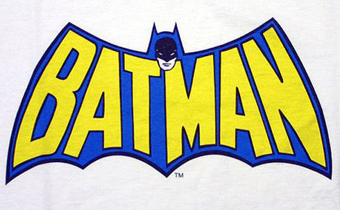 Old Batman logo cape