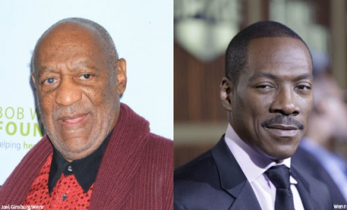 Bill Cosby and Eddie Murphy