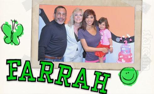 Teen Mom Farrah Abraham dad Michael Abraham mom Debra Danielsen daughter Sophia family photo scrapbook