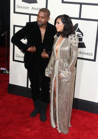 The 57th Annual GRAMMY AwardsFeaturing: Kim Kardashian, Kanye WestWhere: Los Angeles, California, United StatesWhen: 09 Feb 2015Credit: FayesVision/WENN.com