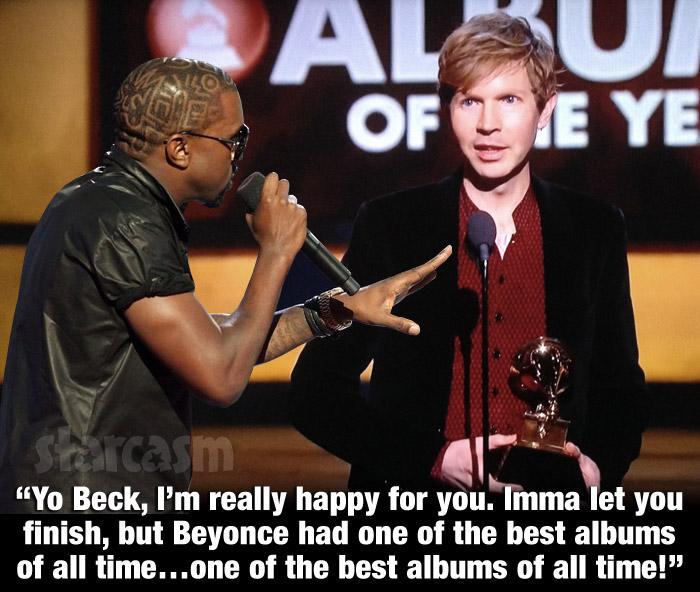 Kanye West Beck Grammy Awards 2015