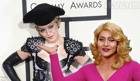 Madonna-and-lookalike-Adam-Guerra