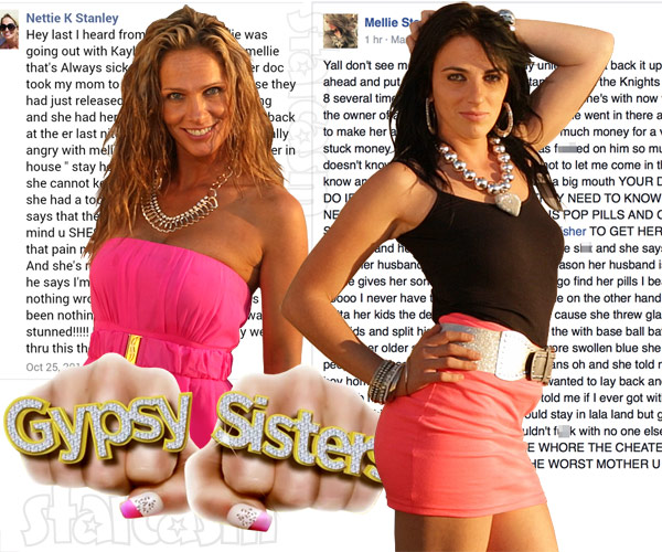 Gypsy Sisters Mellie and Nettie Stanley Facebook feud