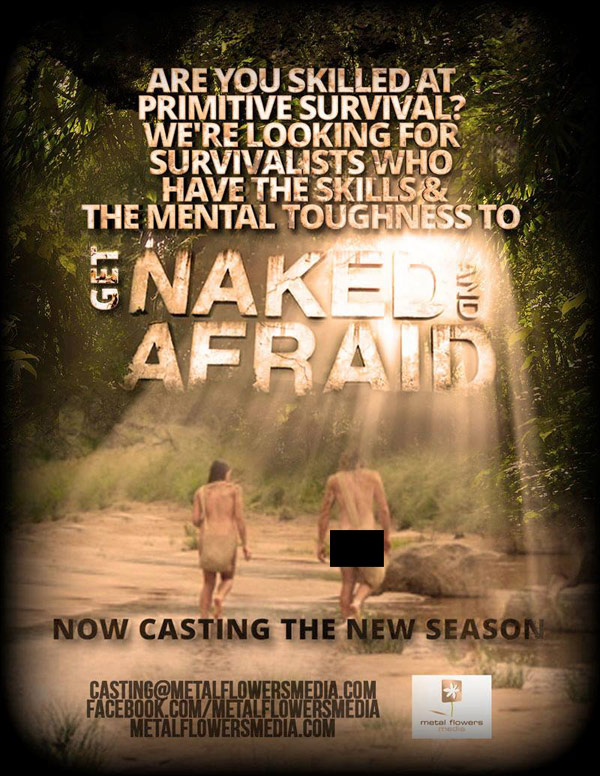 Naked and Afraid Season 4 casting poster