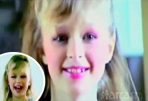 Paris Hilton child throwback makeup by Aunt Kyle Richards