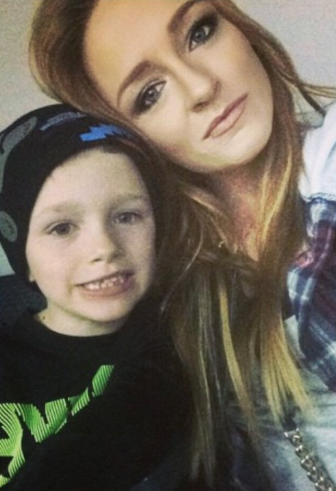 Pregnant Maci Bookout and Bentley
