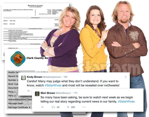 Sister Wives Kody Brown divorces wife Meri marries wife Robyn