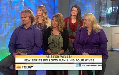 Sister Wives Today show interview in which Meri Brown had her pants unzipped