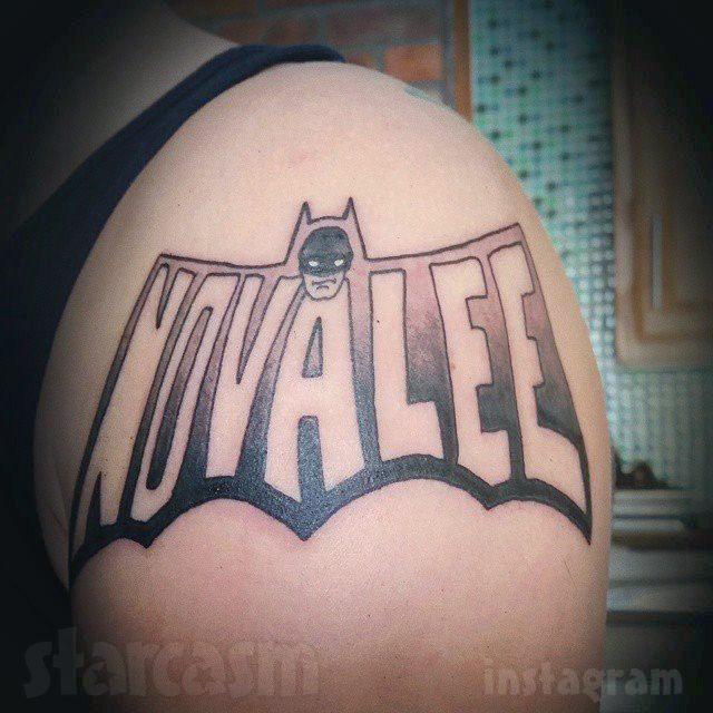 Tyler Baltierra Novalee Batman tattoo