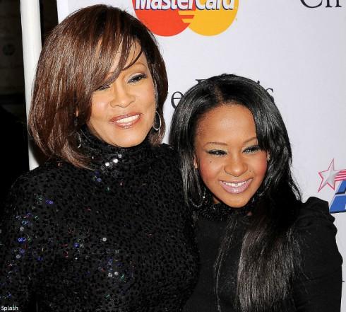 Whitney Houston and Bobbi Kristina