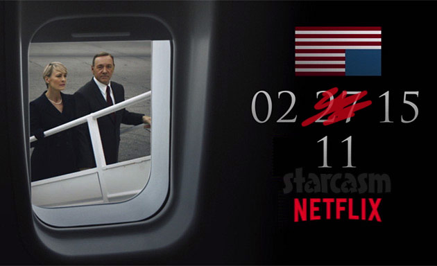 Netflix releases House of Cards Season 3 weeks early