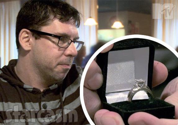 Amber Portwood's engagement ring photo
