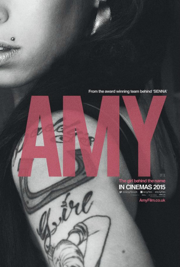Amy Winehouse documentary Amy The Girl Behind the Name movie poster