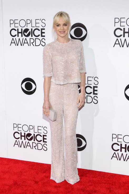 Anna Farris attends the 40th Annual People's Choice Awards
