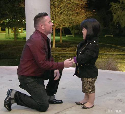 Little Women LA Briana and Matt proposal