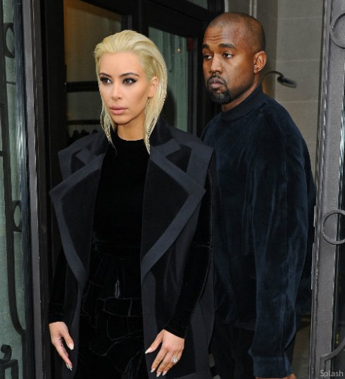 Kim Kardashian Blonde Now