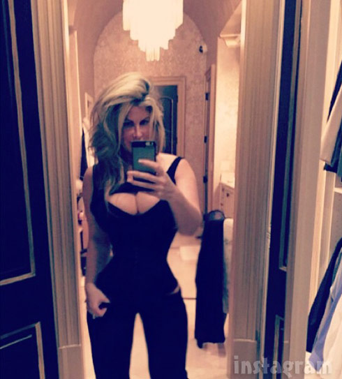 Kim Zolciak Thigh Gap Demi Lovato Moore