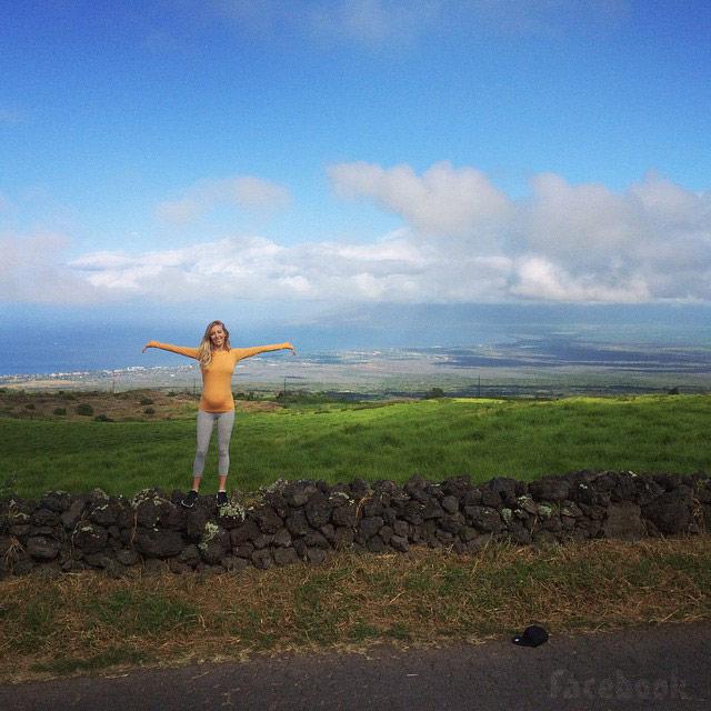 Leah Jenner pregnant Mauii