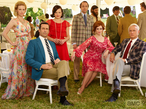Mad Men Season 7 cast photo