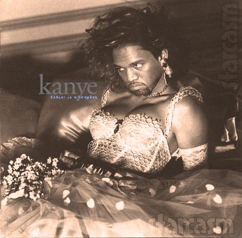 Madonna Kanye Like a Virgin cover