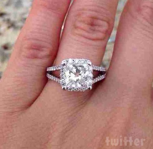 Melissa Sorrentino engagement ring