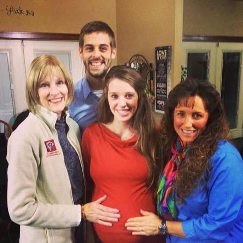 Pregnant Jill Dillard with Derick's Mom