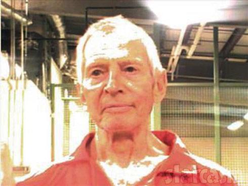 Robert Durst arrested 2015 mug shot The Jinx